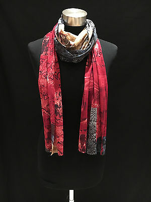 scarves joblot ladies long scarves 6 different colours  x20