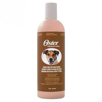 OSTER Shampooing orange creme pour chien - 473ml