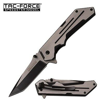 Tac-Force 4.5 Inch Closed 2 Tone Spring Assisted Pocket Knife