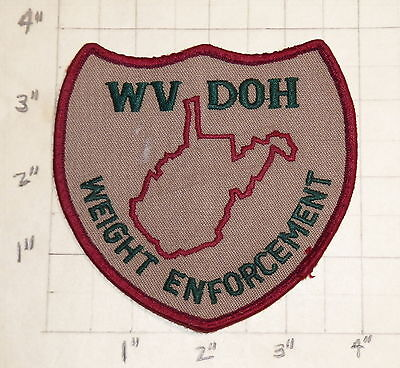 WEST VIRGINIA Division of Highways WEIGHT ENFORCEMENT Patch