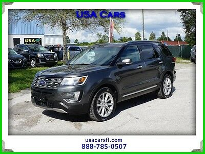 2016 Ford Explorer Limited 2016 Ford Explorer Limited 4WD 3.5L  Heated & Cooled Seats Front & Rear Cameras