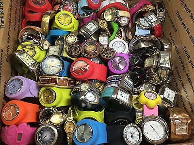Used Bangle Watches Clearance Sale Mix Lot 100+ Items For Repair/Parts (#GL130)