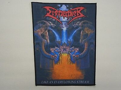 Dismember Like An Everflowing Stream Sublimated Back Patch
