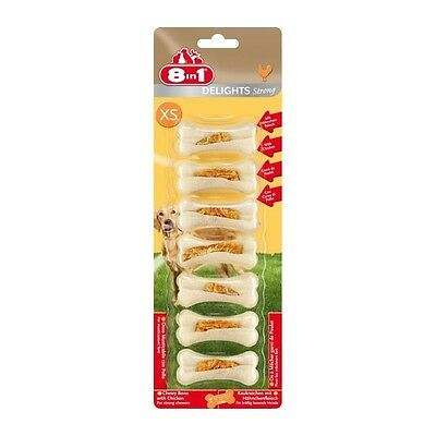 8in1 Friandise chien Delights Strong XS x 7