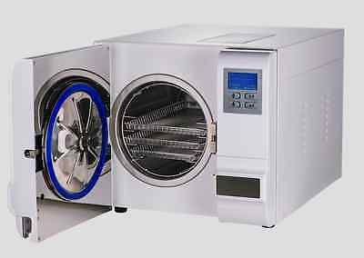 Open Box automatic Laboratory veterinary Autoclave Sterilizer US Seller Warranty