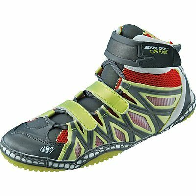Brute JS25 Elite  Wrestling Shoes - Sun/Red/Silver -  Sizes: 6-15