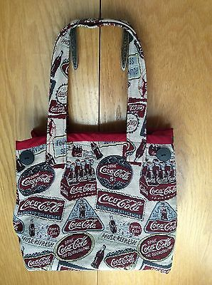 Coca Cola Large Shoppers Tote Hand Bag