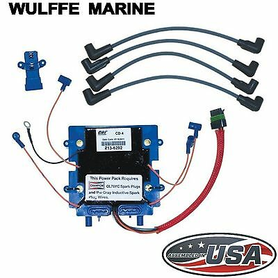 Optical Ignition Power Pack Kit for Johnson Evinrude (90-115 Hp) CDI 113-6292K1