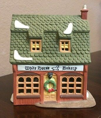 "Department 56 Heritage Dickens' Village Series ""WHITE HORSE BAKERY"" #5926-9"