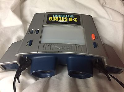 Tomytronic 3D Tomy Stereo Skyfighters Electronic Game Tested Working Vintage 3-D