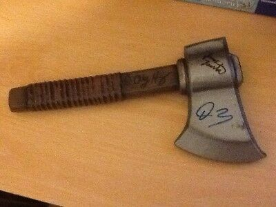 Buffy Signed Prop Axe London  2004 Coa