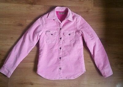 Nice girls warm Joules corduroy jacket. Size 8 years. Great condition Light pink