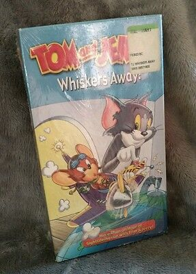 Tom and Jerry Whiskers Away! VHS Tape Cartoons