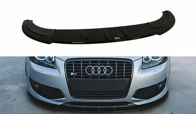 Cup Spoilerlippe Front Diffusor Audi A3 S3 8P 2006-2008