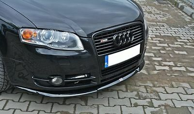 Cup Spoilerlippe Front Diffusor Audi A4 B7