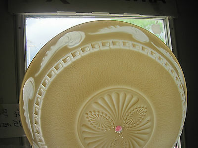 "Vintage Large 15"" Art Deco Glass Shade for Ceiling Lamp Light Fixture Chandelier"