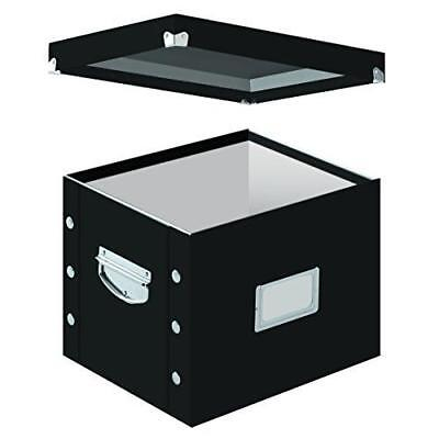 Snap-N-Store Letter-Size File Box, Black (SNS01533) New