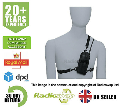 Baofeng Cordura Body Harness Carry Case For Two Way Radio (By Synetix)