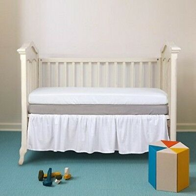 TillYou 2 Pack Fitted Crib Sheet Baby Bed Sheets Unisex