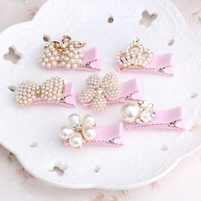 Baby Girl Hair Clip Pin Band Accessory Headband Hairband Ornament