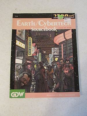 GDW 2300AD Earth / Cybertech Source Book, Softcover