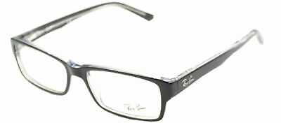 Ray Ban Eyeglasses RX5169 2034 Black Transparent Plastic Frame 54mm