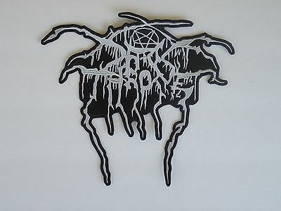 Darkthrone Black Metal Embroidered Back Patch