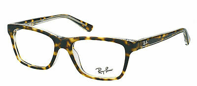 d27a5ccf488 Authentic Ray-Ban RY 1536 3602 Dark Havana Transparent Childrens Eyeglasses  48mm
