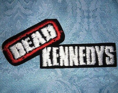 Rare Original Vintage Embroidered Dead Kennedys 1990's Sew Iron On Patch