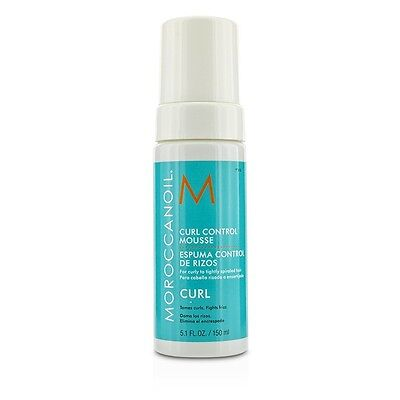 NEW Moroccanoil Curl Control Mousse (For Curly to Tightly Spiraled Hair) 150ml