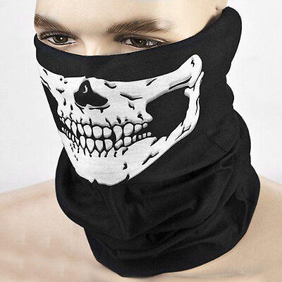 Cool CS Face Mask Neck Camo Military Tactical Mask Skull Dust Shield Seamless