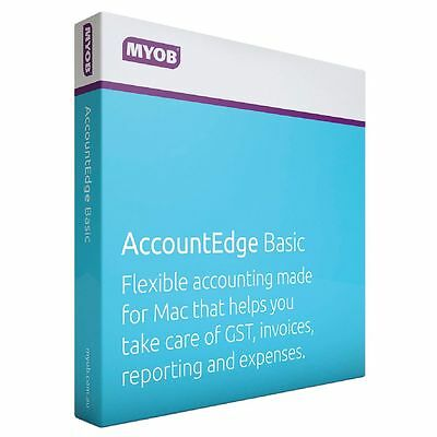 MYOB AccountEdge for Mac Basic Accounting Software Business Solution FEFUL-RET