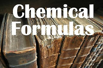 50,000 Vintage Collection Old Fashioned Formulas & Chemical Recipes on CD