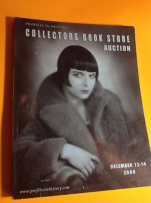 Profiles In History December 12-14, 2008 COLLECTORS BOOK STORE Auction Catalog