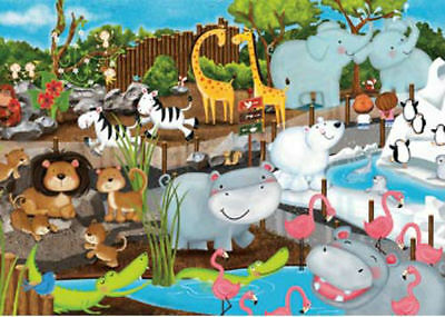 Ravensburger Day At The Zoo 35 Piece Kids Jigsaw Puzzle
