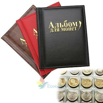 NEW 250 Coin Holder Collection Storage Collecting Money Penny Pockets Album #A