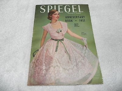 Vintage Spiegel Anniversary Book 1951 How Cool is this!  86th year 131 Pages