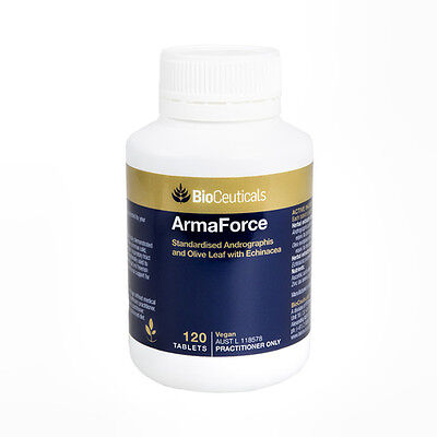 GENUINE Bioceuticals ArmaForce 120 Tablets