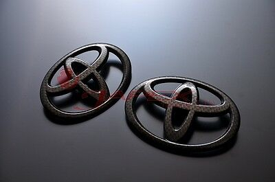 "Grazio & Co TOYOTA ""T Mark"" Emblem (2 Piece Set) for TOYOTA 86 ZN6 Carbon Look"