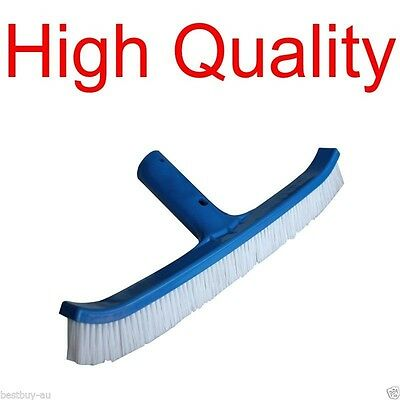 Generic Pole Brush 45cm 18inch - Curved Pool Broom Replacement All Pools & Poles