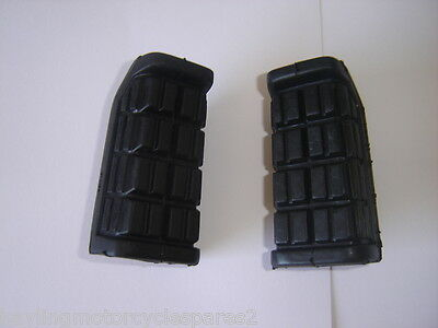 Aftermarket Pair Of Footrest Rubbers Yamaha Fzx750 Fzx 750 Fazer 87-89 New