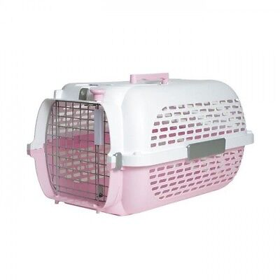 PET VOYAGER Cage chat rose 49x32x30cm taille 1