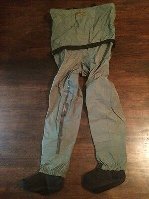 Cabela's Dry Plus Breathable Stocking Foot Fishing Wader XL With Reinforced Seam