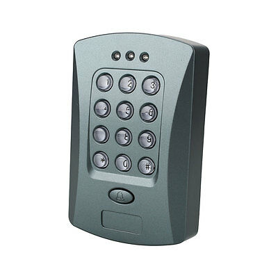 125KHz RFID Password Access Control System Security Electric Exit Switch V2000-C