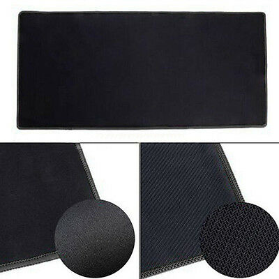 700X300X2Mm New Rubber Gaming Mouse Pad Mat For Pc Laptop Large Black Glaring
