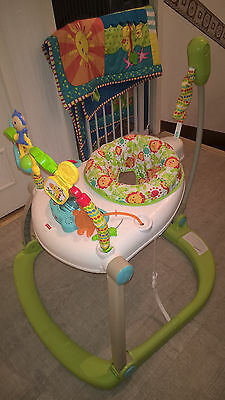 Fisher Price - Trotteur Jumperoo compact Rainforest
