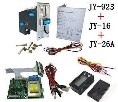 JY923+JY16+JY26A coin operated time control device for cafe kiosk