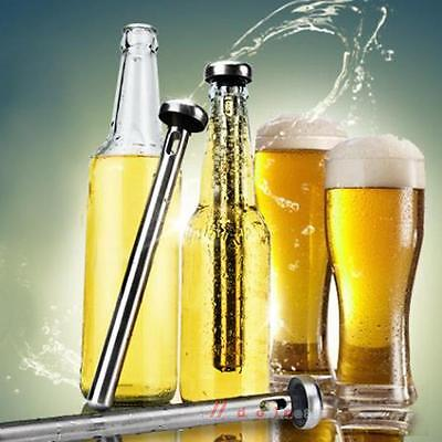 Beer Cooling Rod Frozen Wine Chill Stick Chiller Cooler Bar Stainless Steel Xmas