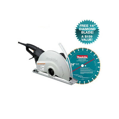 Makita 14 in. Angle Cutter with FREE Diamond Blade 4114X New
