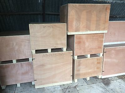 Wooden Packing Crates / Storage Boxes / Shipping Cases / Lift Van / Wooden Boxes